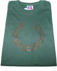T'shirt mit Hufeisen